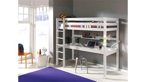 lit mezzanine 1 place avec bureau lit mezzanine 1 place avec bureau clara en pin massif so