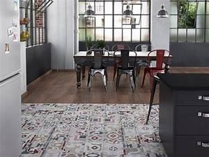 Dalle Vinyle Carreau De Ciment : la d co imitation carreaux de ciment joli place ~ Premium-room.com Idées de Décoration