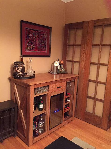 custom wine fridge bar diy wine fridge bar wine