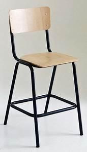 Chaise D école : chaises d 39 cole cherche int rieur tendance c t ~ Teatrodelosmanantiales.com Idées de Décoration