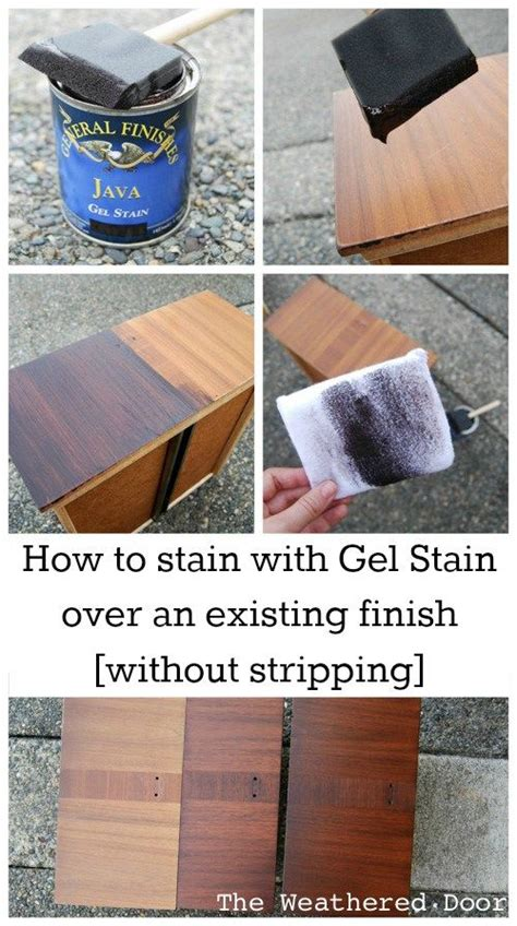 25 best ideas about gel stain furniture on