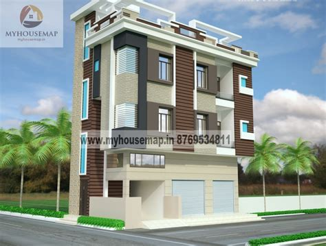 Modern Elevation Design Of Residential Buildings