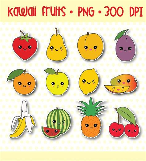 Kawaii Clipart, Kawaii Fruit Clipart, Cute Fruit Clipart. Wellness Banners. Stomach Signs. Album Banners. Girl Chevy Decals. Children's Stickers. Maroon Lettering. Home Decor Signs. Uc Merced Banners