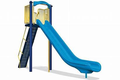 Slide Single Velocity Play Freestanding 8ft Park