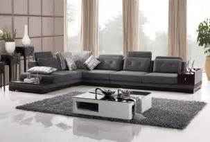 Dark Brown Sectional Living Room Ideas by Modern Sectional D Amp S Furniture