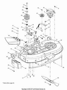 Mtd 13cx614g401  2003  Parts Diagram For 42