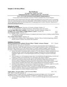 Usaf Sergeant Resume air security forces resume sles of resumes