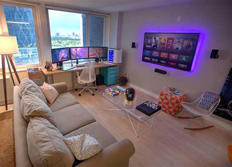 best living room setup 47 epic video game room decoration ideas for 2017