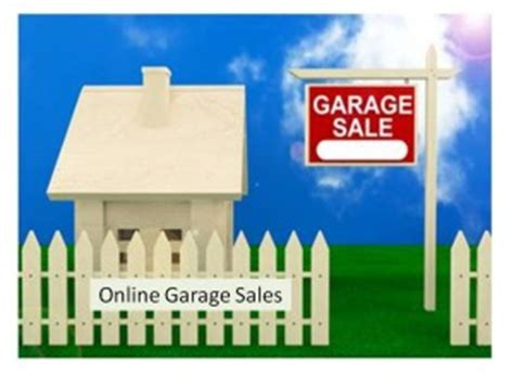 Online Garage Sales  Ellen's Blog, Professional