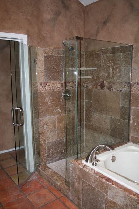 glass shower doors phoenix az frameless shower doors tub