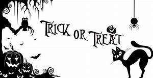 Clipart - Trick Or Treat Halloween Silhouette