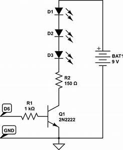 Lcd - Wiring A Potentiometer To Control A 9v Battery Powering 2 Leds In Series