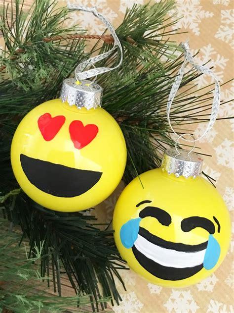 christmas lights emoji diy emoji ornaments frugal eh