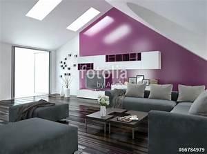 Wohnzimmer Mit Grauer Couch : modernes wohnzimmer mit pinker wand und grauer couch stockfotos und lizenzfreie bilder auf ~ Bigdaddyawards.com Haus und Dekorationen