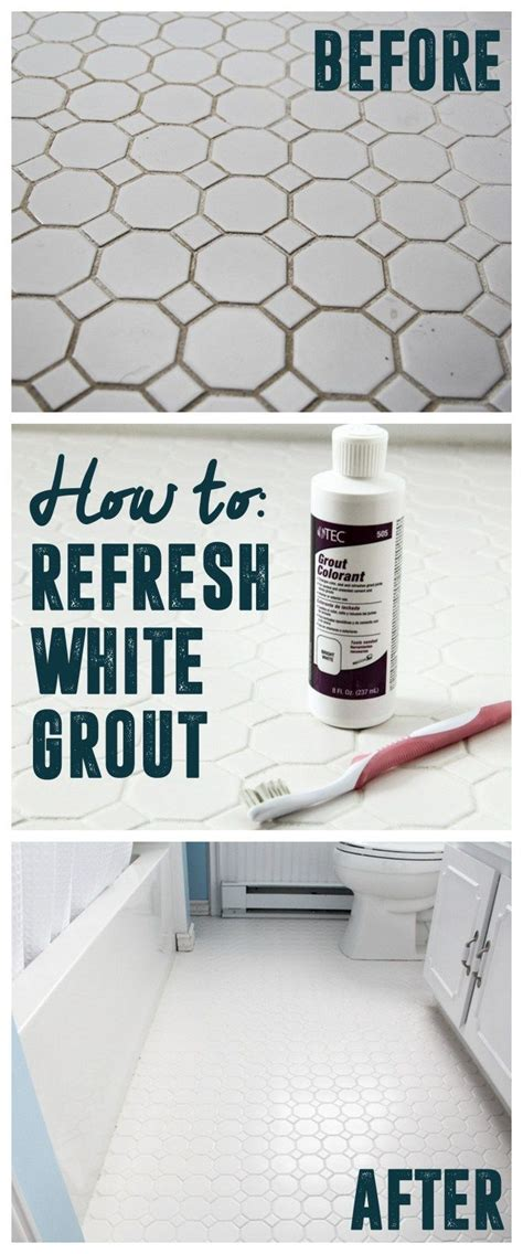 refresh white grout tile grout cleaner clean