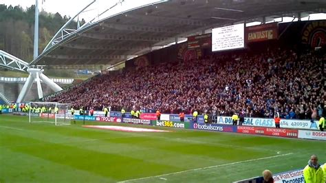 Sheffield Wednesday fans away at Uddersfield 2011-12 ...