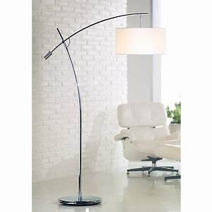37 best lighten up light fixtures images on pinterest With chrome boom arc floor lamp with linen shade