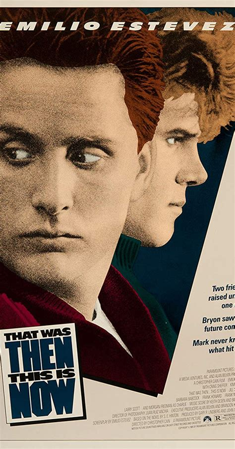 That Was Then... This Is Now (1985) - IMDb