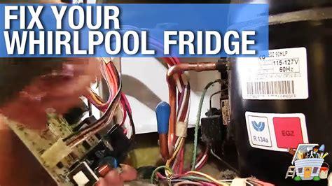 repair  whirlpool refrigerator youtube