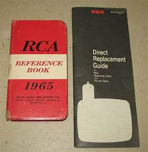 Rca 1965 Reference Book And 1970 Substitution Guide
