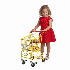 Amazon.com: ECR4Kids Kids Shopping Cart with 12-Piece ...