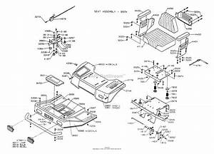 Dixon Ztr 4422  1996  Parts Diagram For Body Assembly