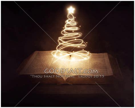 christmas tree bible