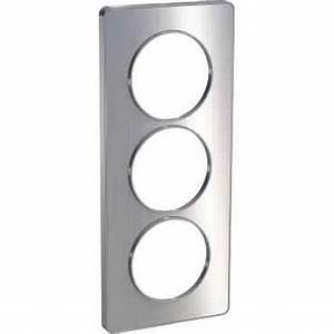 Plaque Alu Brossé : schneider s530816j odace touch plaque aluminium bross ~ Edinachiropracticcenter.com Idées de Décoration