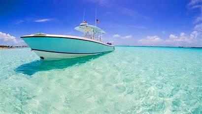 Boat Ocean Wallpapers Water Clear Sky Cloud