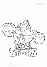 Draw Brawl Stars Coloring Tick Drawing Mega Brawlstars Drawitcute Tutorials Fanart Penny Brawlers Characters Colouring Sketch Drawings Werewolf Leon Kolorowanki sketch template
