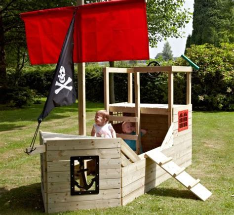 kids  toys pirate galleon playship wooden boat ship