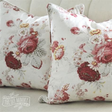 sewing pillow covers sew a piped zippered pillow cover tutorial the