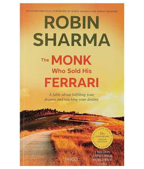 the monk who sold his the monk who sold his paperback 2003