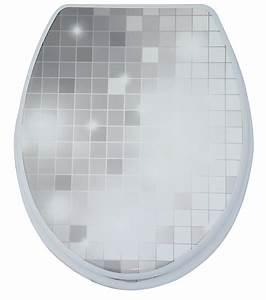 Wc Sitz Lochabstand : wc sitz toilettendeckel klodeckel klobrille wc deckel toilettensitz mosaic stars ebay ~ Watch28wear.com Haus und Dekorationen
