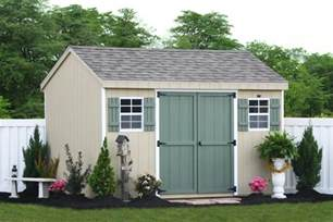 build your own storage shed with our options