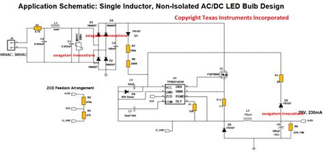 7 watt led driver smps circuit current controlled circuit projects
