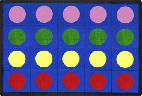 lots  dots rug kids carpet  classroom rtr kids rugs