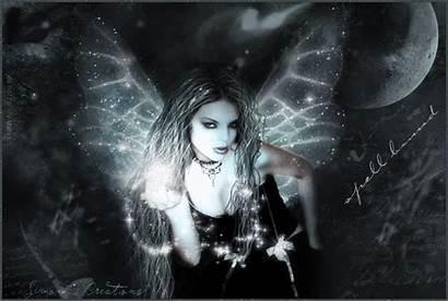 Gothic Fairy Sparkling Fanpop Fairies Dark Goth