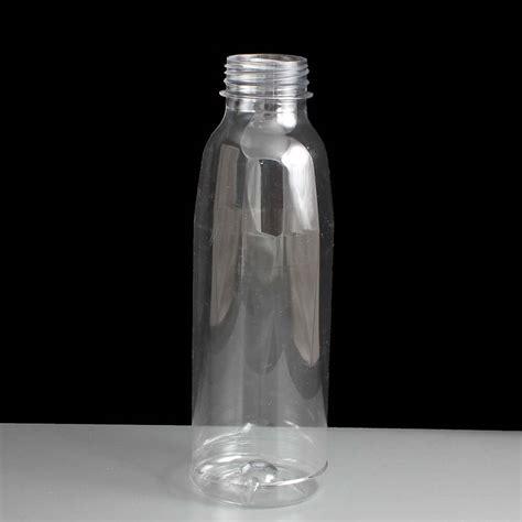 ml clear plastic juice bottle  cap