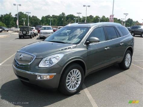 2011 Buick Enclave Colors by 2011 Silver Green Metallic Buick Enclave Cxl 33236962