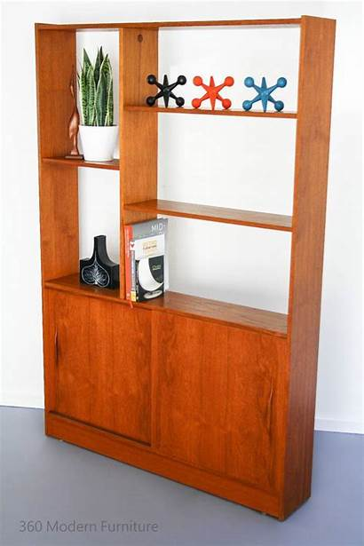 Divider Dividers Mid Century Bookcase Modern Wall