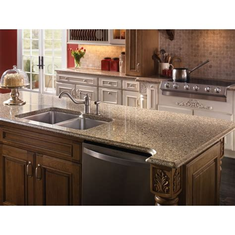Shop Silestone Sienna Ridge Quartz Kitchen Countertop