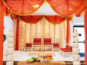 indian wedding decorators nj indian wedding mandap decor white gold maharani weddings
