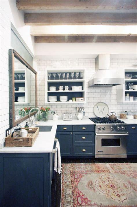 Blue Kitchen Ideas by 50 Blue Kitchen Design Ideas Decoholic