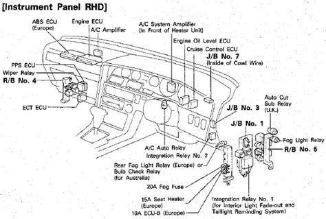 1990 Toyotum Supra Engine Diagram by Wiring Diagrams 1990 Toyota Supra Electrical Wiring Diagram