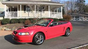 2000 Ford Mustang GT Convertible For Sale~Jasper Long Block~Low Miles~Vortech - YouTube