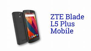Zte Blade L5 Plus Specification