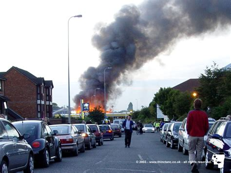 Epsom Fire :: Photography Archive :: @Thinctanc.com