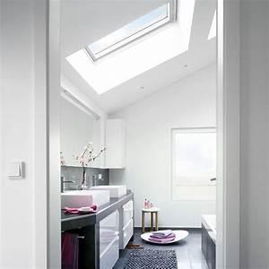amenager une salle de bains sous les toits travauxcom With salle de bain sous toit