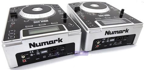 Numark Ndx200 Dj Cd Decks (pair) Whybuynew